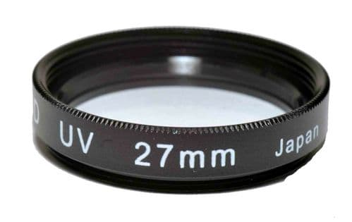 Kood High Quality Optical Glass UV Filter Made in Japan 27mm