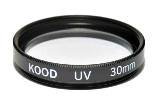 Kood High Quality Optical Glass UV Filter Made in Japan 30mm