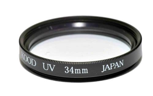 Kood High Quality Optical Glass UV Filter Made in Japan 34mm
