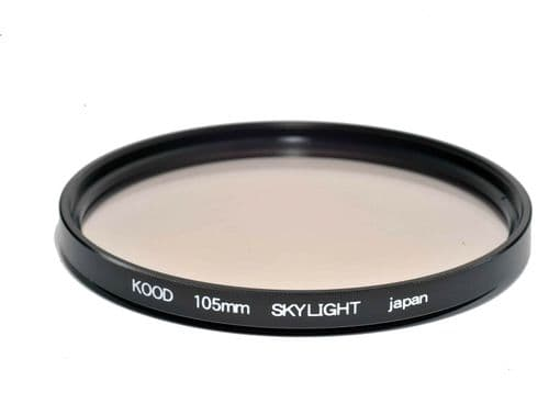 Kood High Quality Skylight 1A Optical Glass Filter Made in Japan 105mm Unboxed Protection Filter