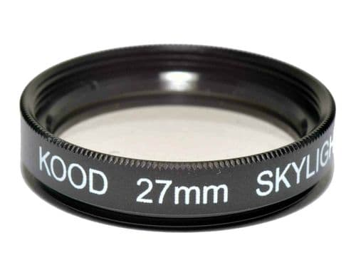 Kood High Quality Skylight 1A Optical Glass filter Made in Japan 27mm
