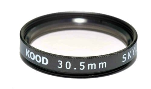 Kood High Quality Skylight 1A Optical Glass filter Made in Japan 30.5mm