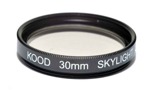 Kood High Quality Skylight 1A Optical Glass filter Made in Japan 30mm