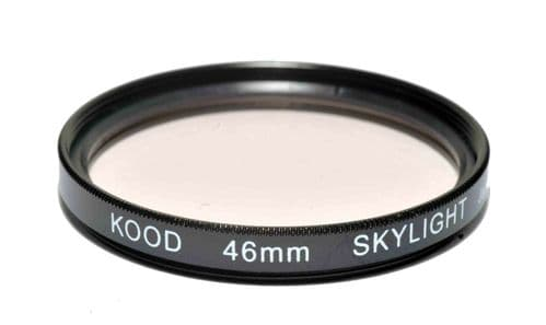Kood High Quality Skylight 1A Optical Glass filter Made in Japan 46mm