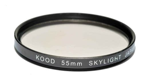 Kood High Quality Skylight 1A Optical Glass filter Made in Japan 55mm