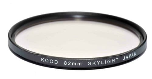 Kood High Quality Skylight 1A Optical Glass filter Made in Japan 82mm