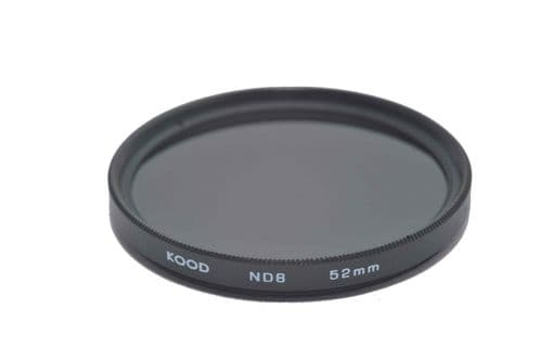 Kood ND8 (3 Stop) Filter Slim Frame 52mm