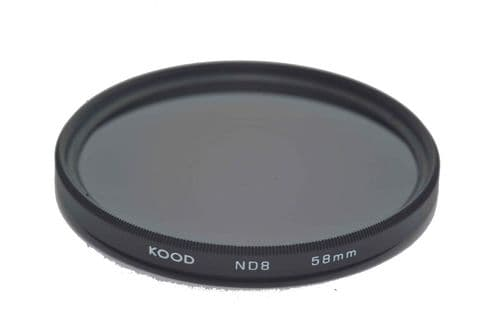Kood ND8 (3 Stop) Filter Slim Frame 58mm