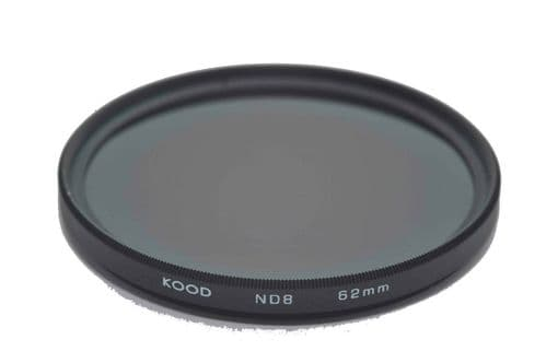 Kood ND8 (3 Stop) Filter Slim Frame 62mm