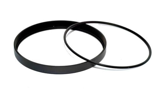 Metal Filter Ring and Retainer 127mm 0.5mm pitch