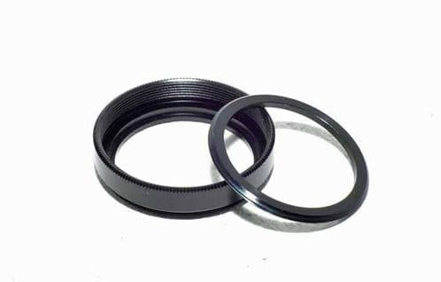 Metal Filter Ring and Retainer 37.5mm