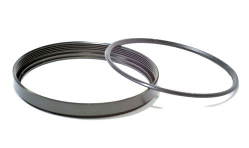 Metal Filter Ring and Retainer 52mm