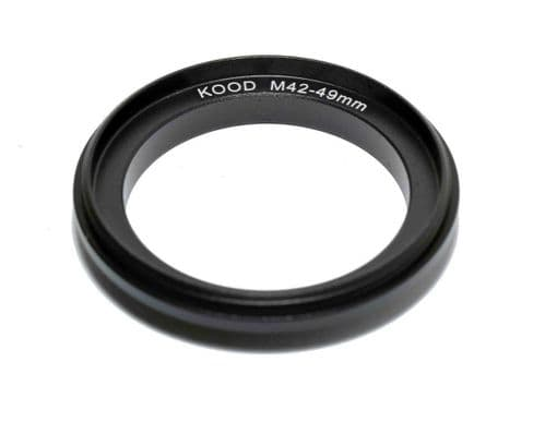 Reversing Ring M42 49mm Pentax Screw Fit 49mm