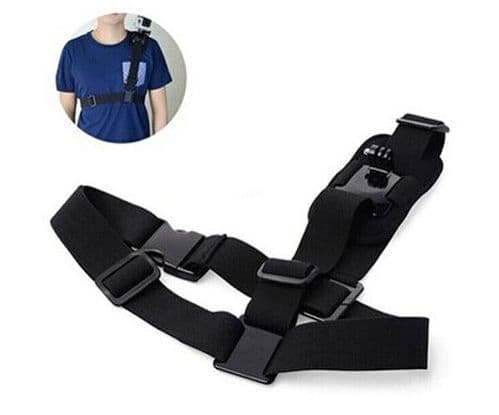 Shoulder Harness Mount Adjustable compatible for GoPro Hero HD 4 3+ 3 2 1 Camera