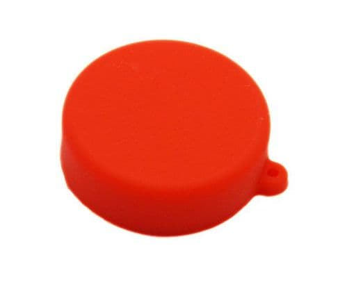 Soft Silicone Red Camera Lens Protective Cover Cap for GoPro Hero 3/3+/4