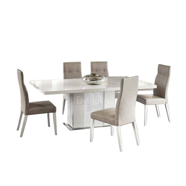 Canova Extending Dining Table and 4 Chairs