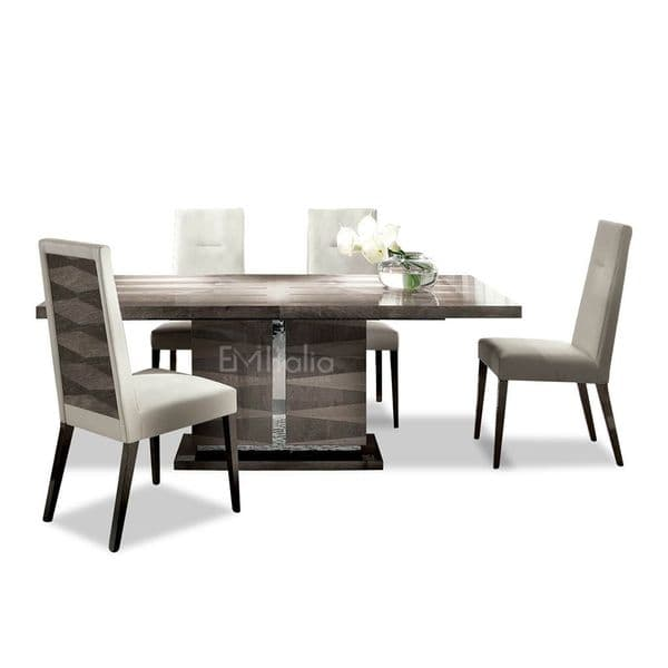 Monaco Extending Dining Table and 4 Chairs