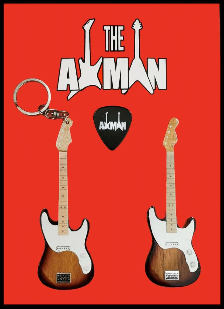 (The Police) Sting: Guitar Keyring