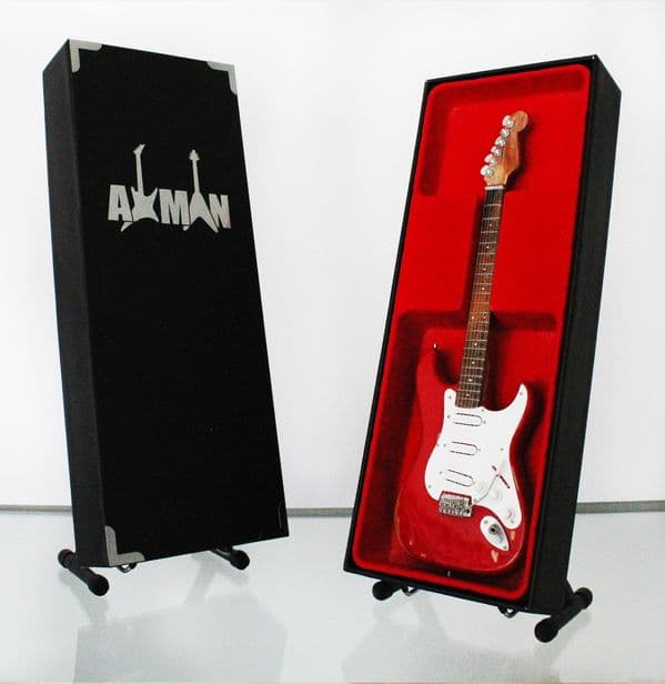 Gary Moore (Thin Lizzy) Red Miniature Guitar Replica