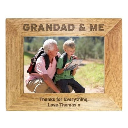 Grandad And Me Photo Frame. Daddy And Me Photo Frame.