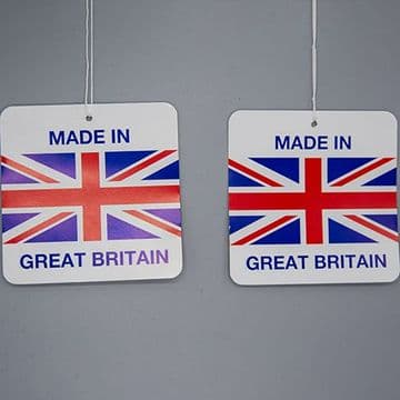 Made In Great Britain Swing Tag