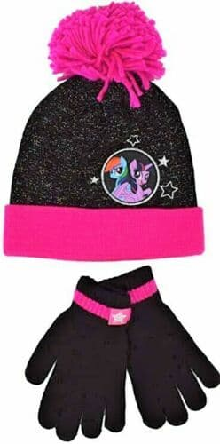 £2.95 each - My Little Pony 'The Movie' sparkly hat and gloves set x 10