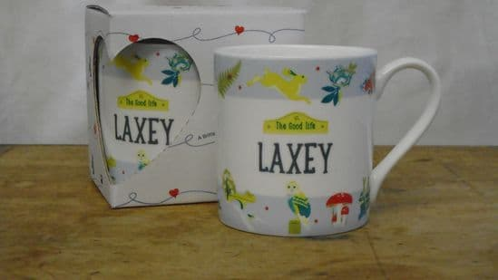 The Good Life Mug. 'Laxey'