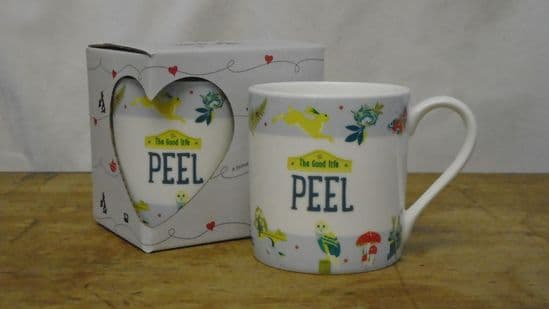 The Good Life Mug. 'Peel'