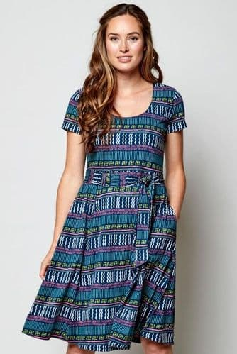 Nomads Fit and Flare Dress
