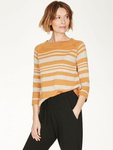 Though Clothing Sail La Vie Jumper in Amber