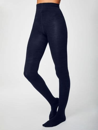Thought Clothing Bamboo Tights in Navy