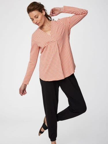Thought Clothing Rohan Top in Coral