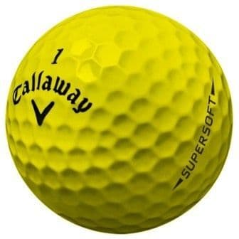 24 Callaway Supersoft Yellow