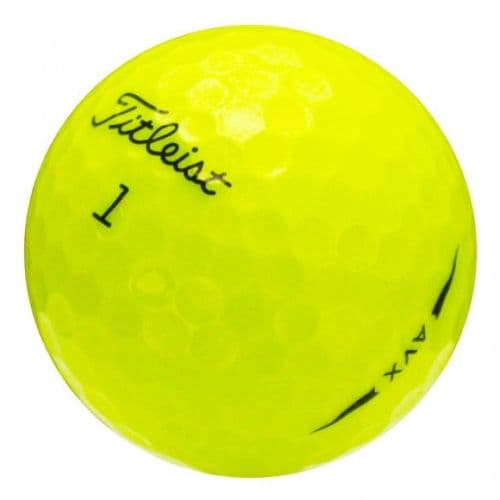 Titleist AVX Yellow Lake Balls - Ace Golf Balls