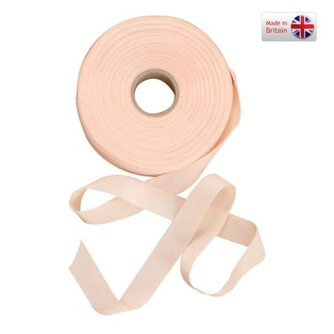 2.5 Meter Pink Narrow Nylon Ribbon for Ballet Shoes