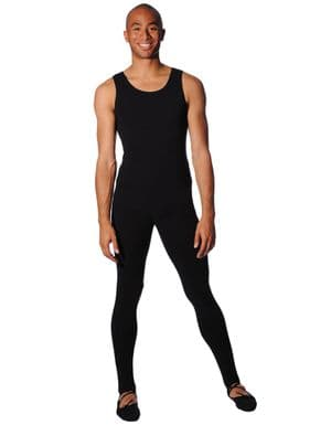 Black and Navy Male Dance Tights