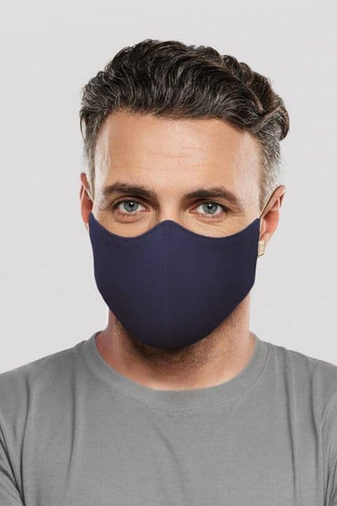 Bloch Adults Soft Stretch Mask  in Navy  A001A