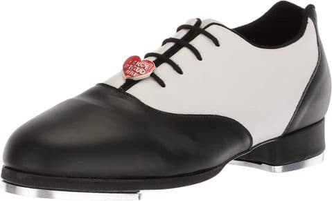 Bloch Chloe & Maud Tap Shoes S0327 Black and White