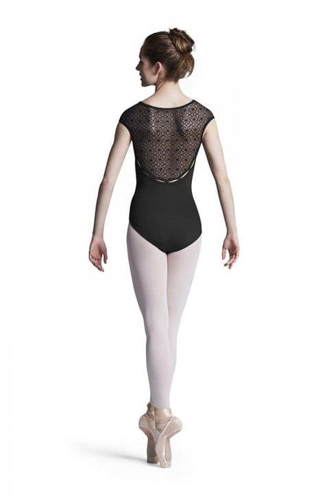 Bloch Ladies Edith Mesh Back Cap Sleeve Leotard