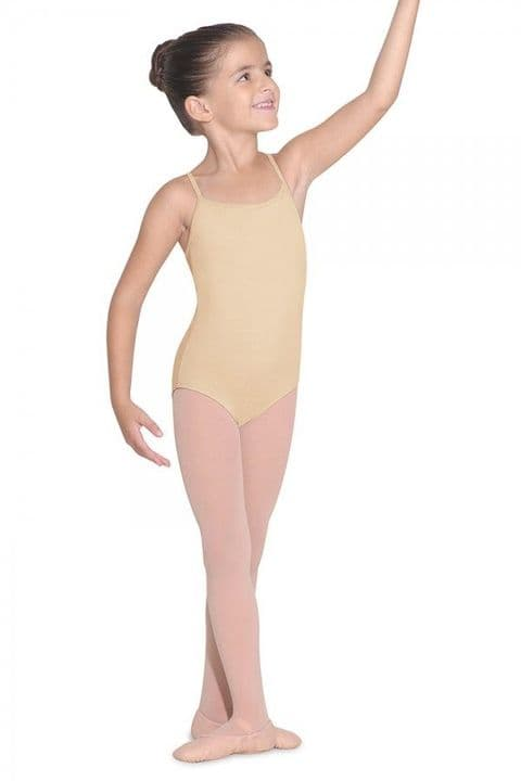 Bloch Parem CL5607 Camisole Leotard in Nude