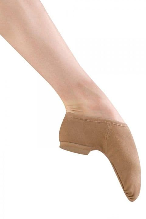 Bloch Phantom Slip On Jazz Shoe in Canvas