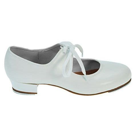 Bloch SO330 Timestep Tap Shoe Toe and Heel Taps in White