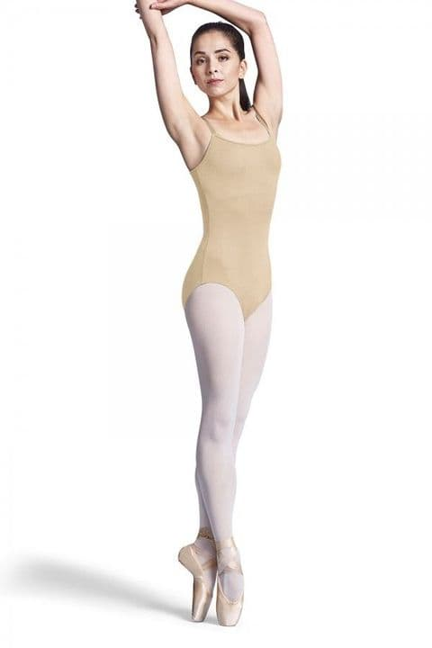Bloch Yashina Adult Adjustable Strap Nude Colour Leotard