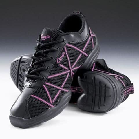 Capezio DS19 Web Dance Trainer in Hot Pink