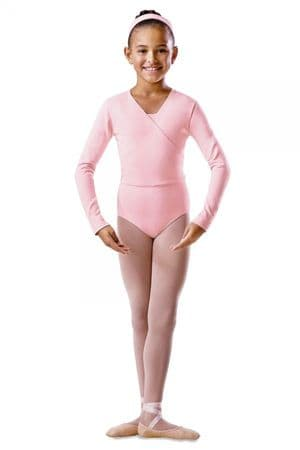 Cotton Lycra Wrap Over Cardigan for Ballet Dance Class