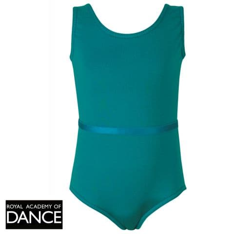 Freed 'Aimee' Sleeveless Leotard - RAD Approved in Teal