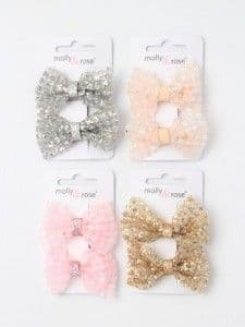 Glitter Bows All Colours