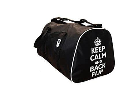 Keep Calm and Back Flip Gym Holdall