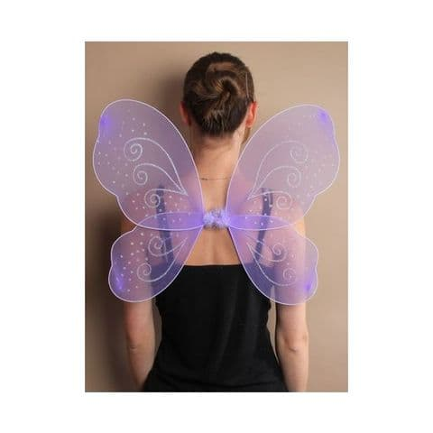 Large Lilac Fairy Wings