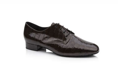 Mens 'Kelly' by Dance Steps in Brown Croc